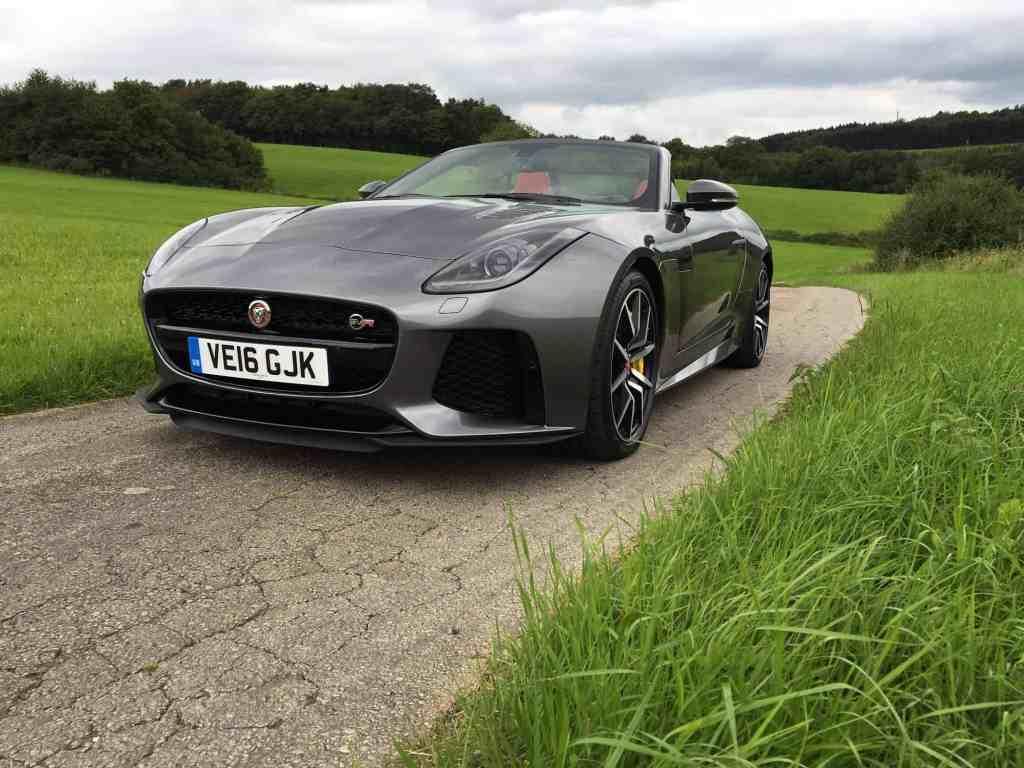 Jaguar F-Type SVR Front