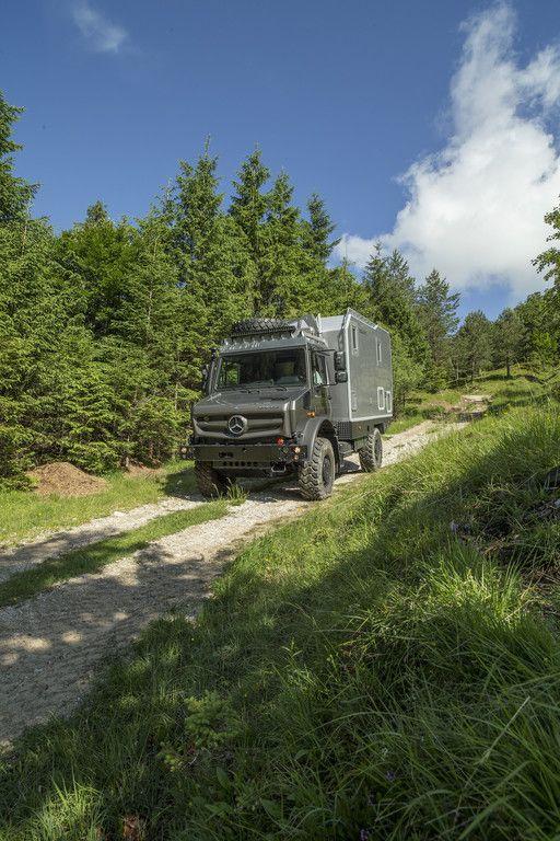 Bimobil EX 435 auf Unimog-Basis
