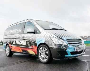 IAA Nutzfahrzeuge 2016: Magna präsentiert Elektrokonzepte
