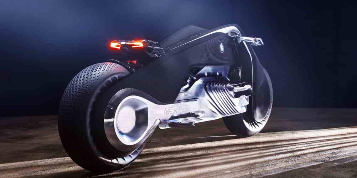 BMW Vision Next 100: Digitale Motorrad-Zukunft für analogen Fahrspaß