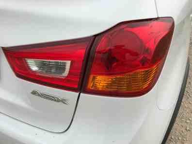 Mitsubishi ASX Rücklicht/ www.der-autotester.de