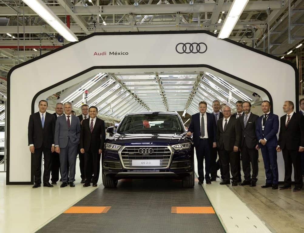 Einweihung des Audi-Werks im mexikanischen San José Chiapa