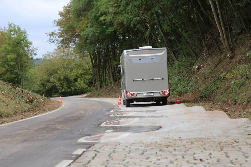 Hymer nimmt Schlechtweg-Teststrecke in Betrieb