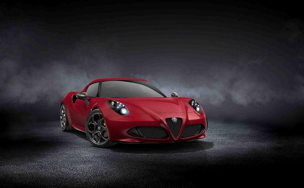 Alfa Romeo 4C Rosso Forte