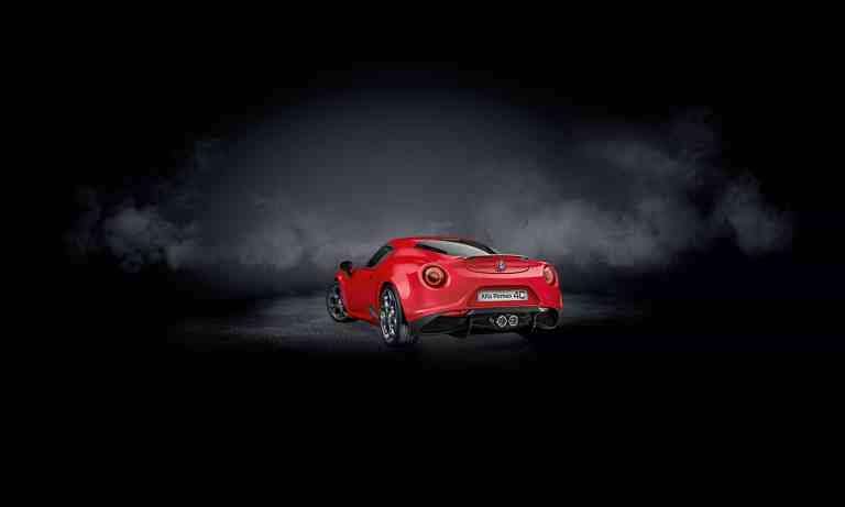 Nur 20 Mal zu haben – Alfa Romeo 4C Coupé Rosso Forte
