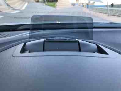 Mazda3 Head-up Display