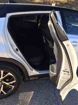 Toyota C- HR Einstieg hinten