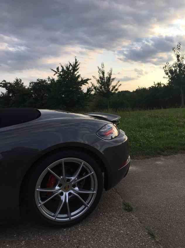Porsche Boxster S - Felge
