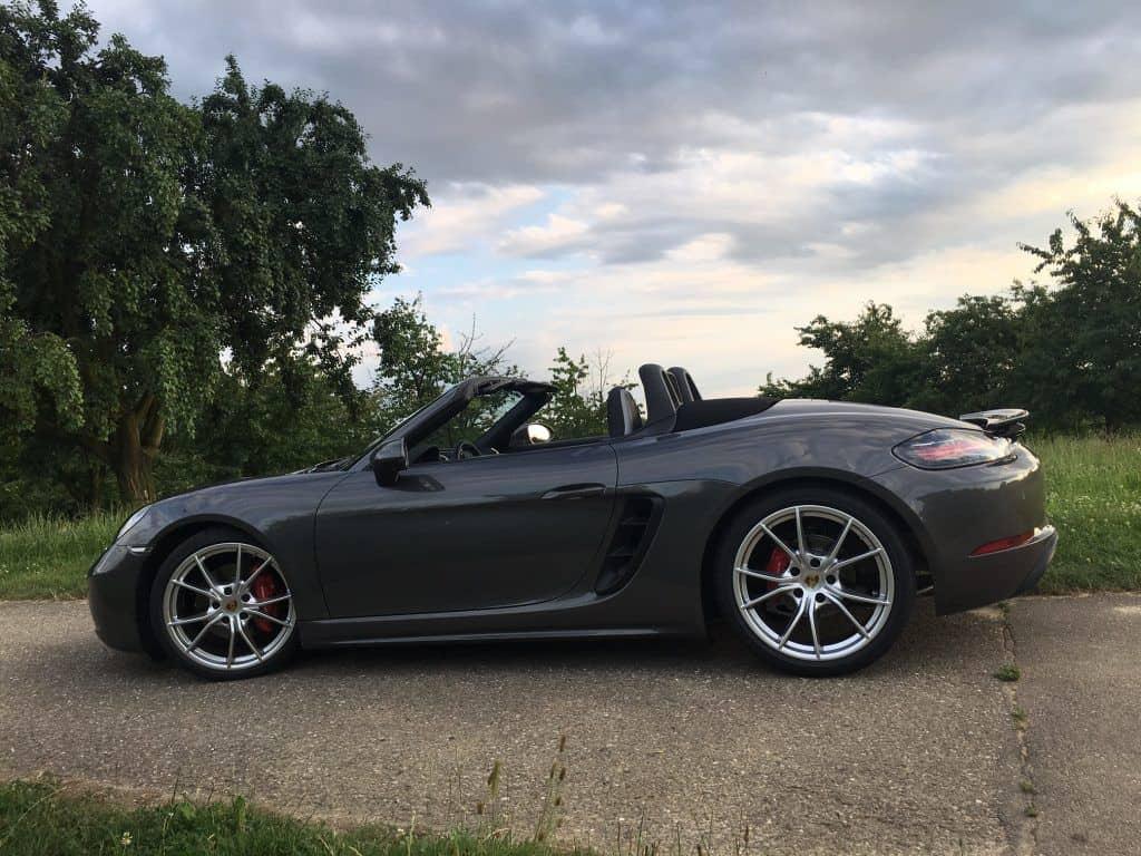 Porsche Boxster S Seitenansicht