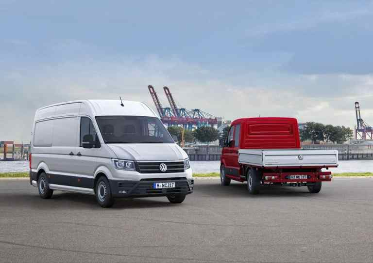 VW Crafter günstiger als der Vorgänger