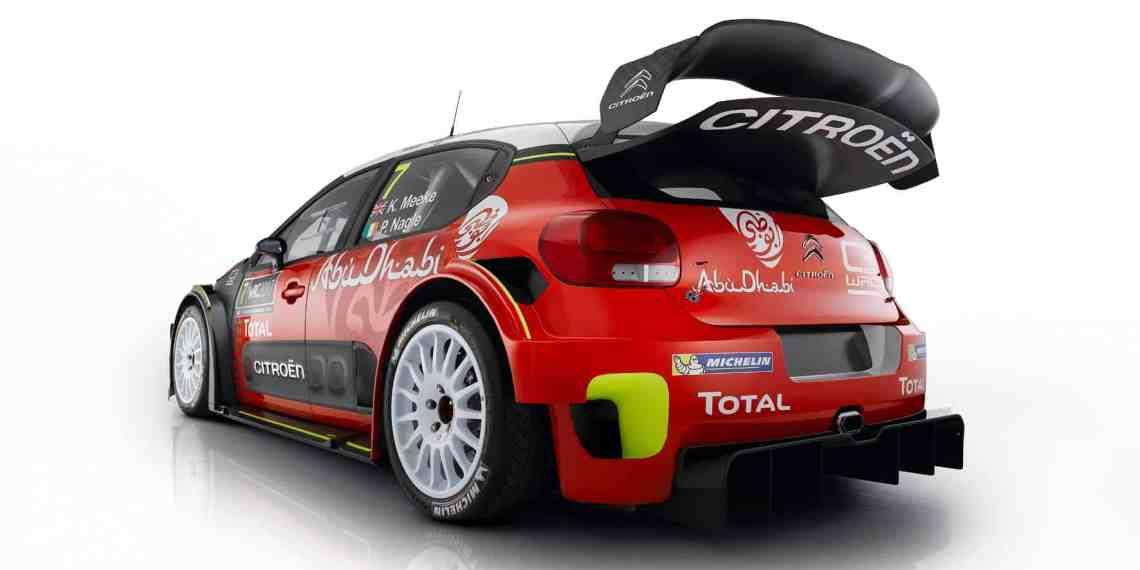 Citroen setzt auf den C3 WRC