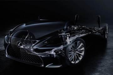 Lexus enthüllt den neuen LS in Detroit