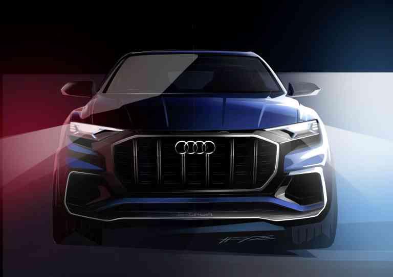 Vorhang auf: Audi zeigt in Detroit den Q8 Concept
