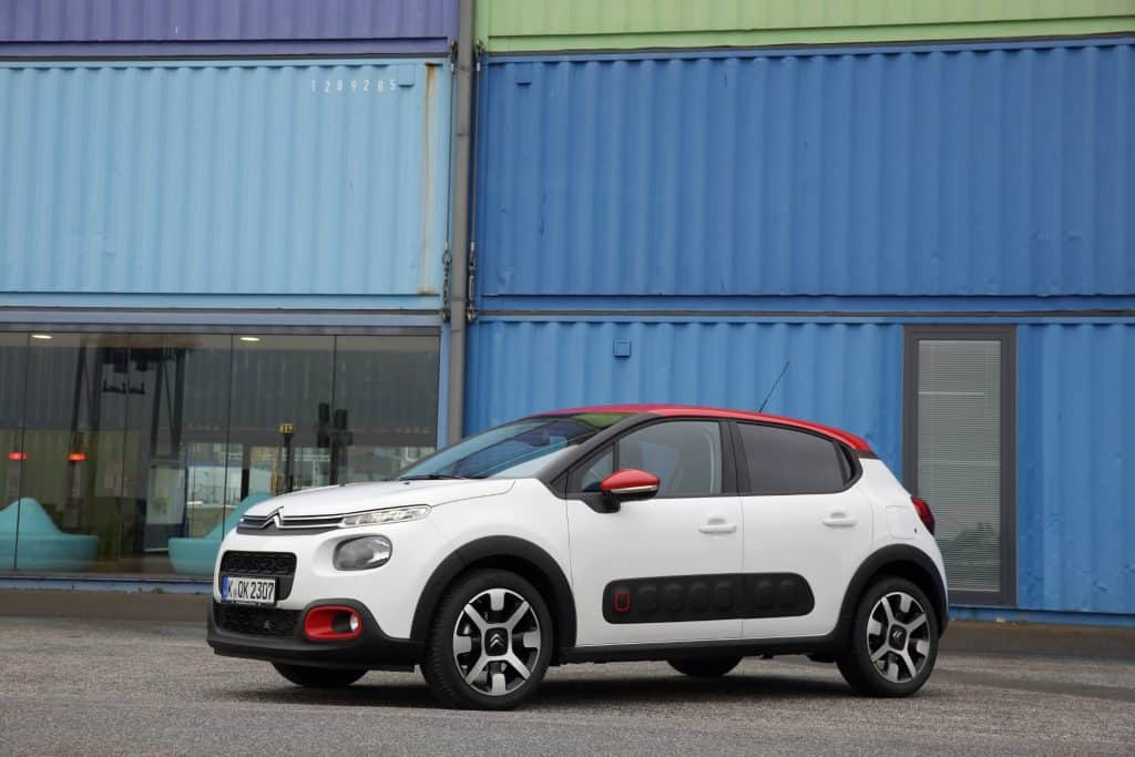 Citroën C3 Seitenansicht