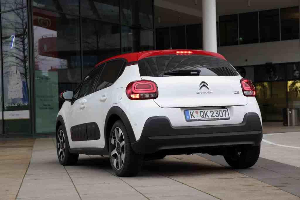 Citroën C3 Heck
