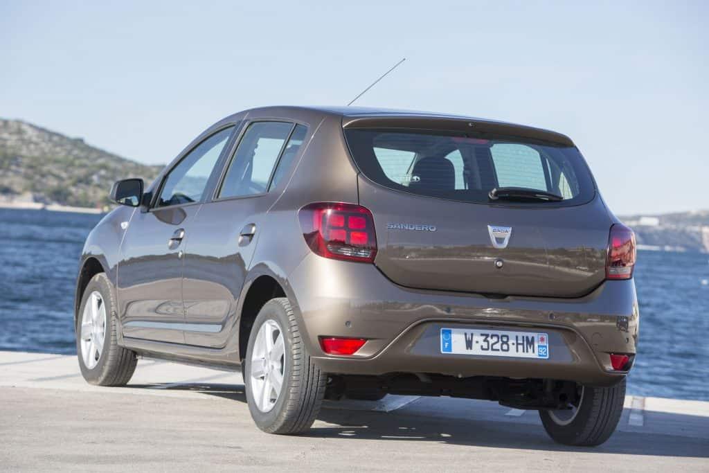 Dacia Sandero Heck