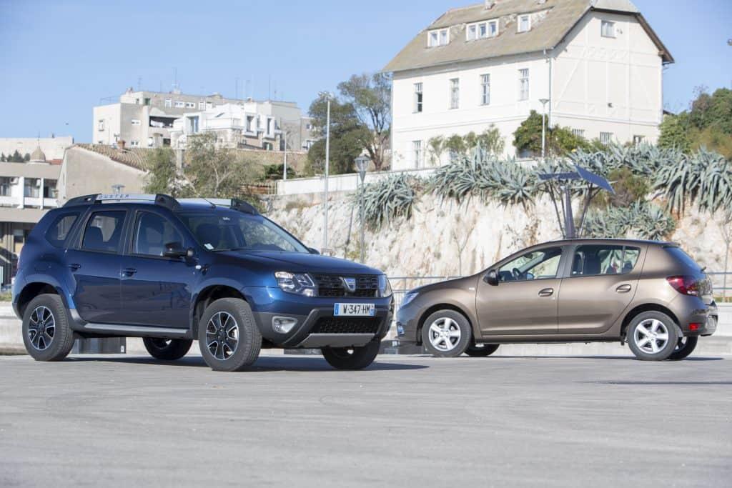 Dacia Duster und Dacia Sandero