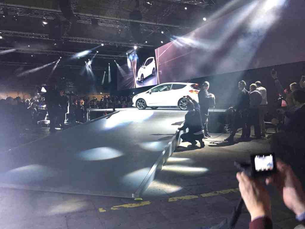 Ford Fiestawurde im Kölner Ford-Werk vorgestellt