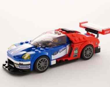 Lego bringt zwei Le-Mans-Sieger von Ford