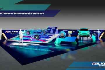 Genf 2017: Falken zeigt neuen Rennwagen und Energiespar-Reifen für Elektrofahrzeuge