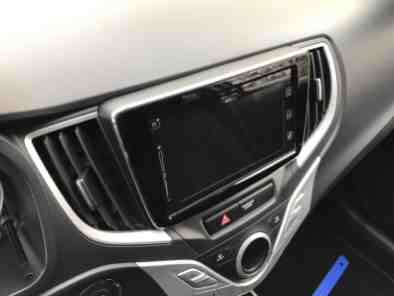 Suzuki Baleno 1.0 Boosterjet Display