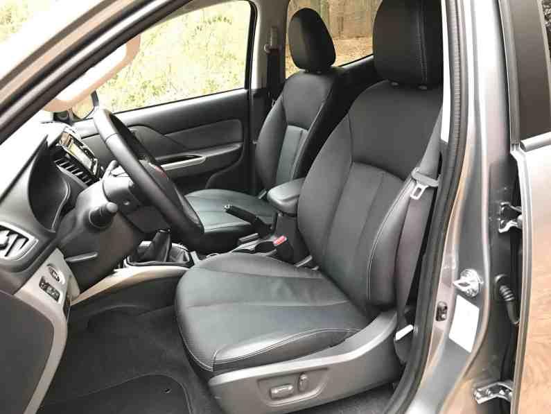 Fiat Fullback Ledersitze