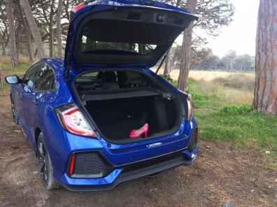 Honda Civic Kofferraum