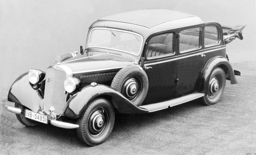 Der erste Serien-Pkw mit Dieselmotor: Mercedes-Benz 260 D (1936)