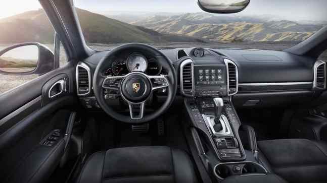 Porsche Cayenne S Platinum Edition Innenraum