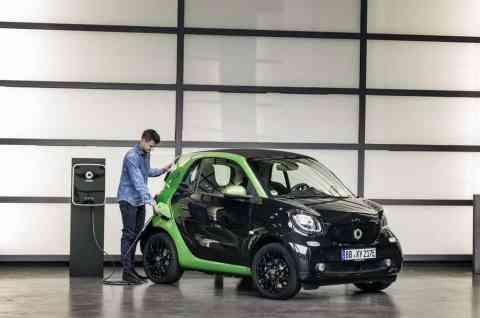 Smart Fortwo Cabrio Electric Drive Tanken