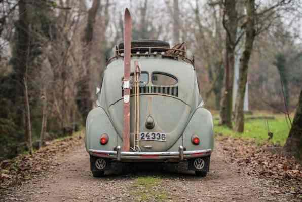 Dieser VW Typ 1 von 1952 erzielte bei Sotheby's 58 240 Euro