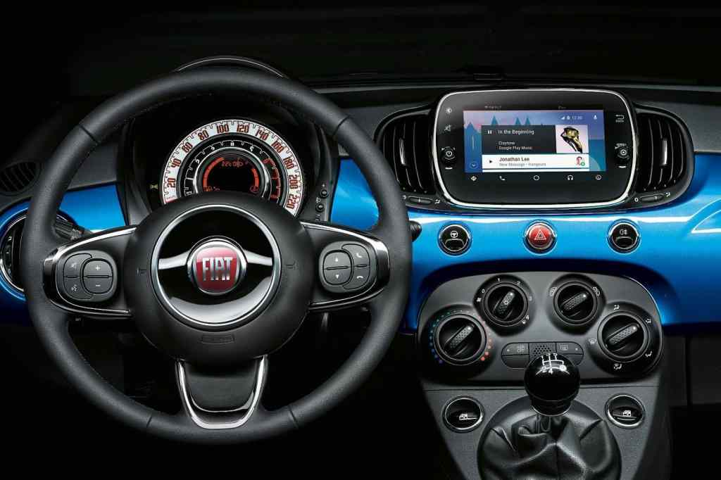 Fiat-Sondermodell 500 Mirror