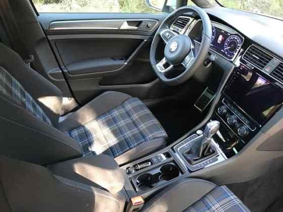 VW E-Golf (2017) Innenraum