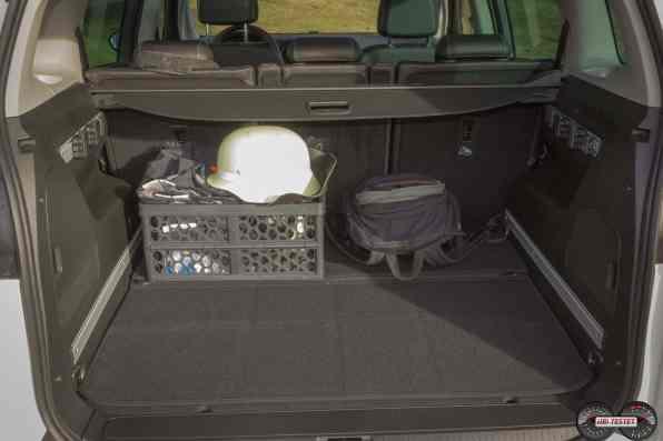 Kofferraum Opel Zafira