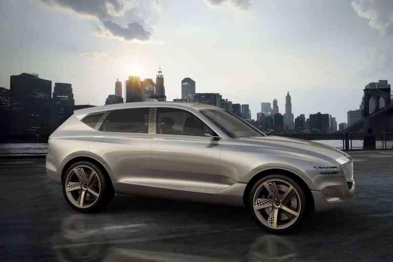 New York: Genesis zeigt Brennstoffzellen-SUV