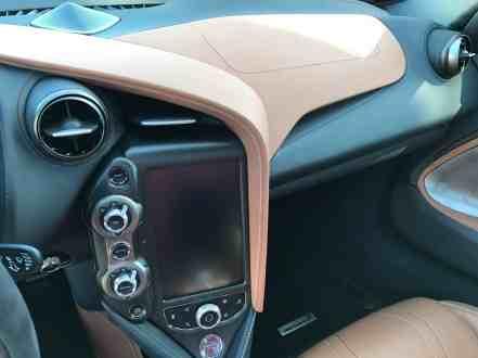 McLaren 720S Armaturenbrett