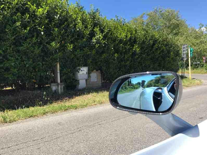 McLaren 720S Rückspiegel