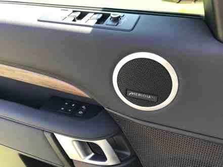 Land Rover Discovery Lautsprecher in Seitentür