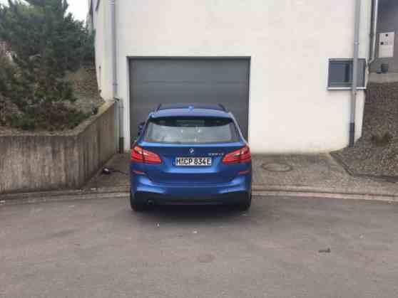 BMW 225xe Active Tourer Heck