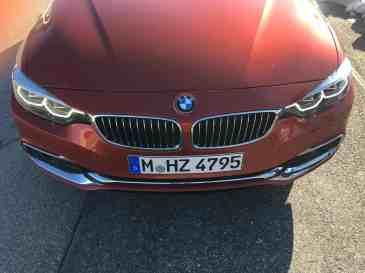 BMW er Cabrio Motorhaube
