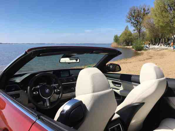 BMW 4er Cabrio (Modell 2017) Ledersitze