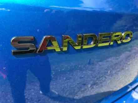 Dacia Sandero Stepway Schriftzug