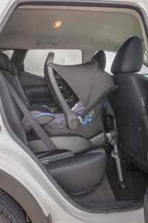Nissan Qashqai Kindersitz