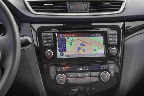 Nissan Qashqai Navigationssystem