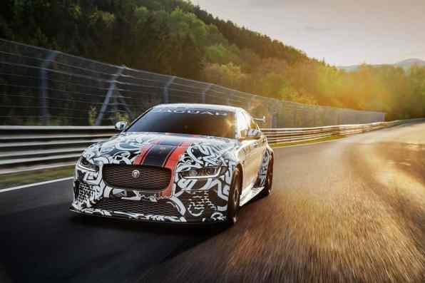 Jaguar XE SV Project 8 Front