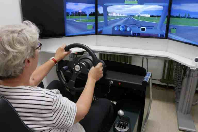 Senioren am Steuer werden erforscht
