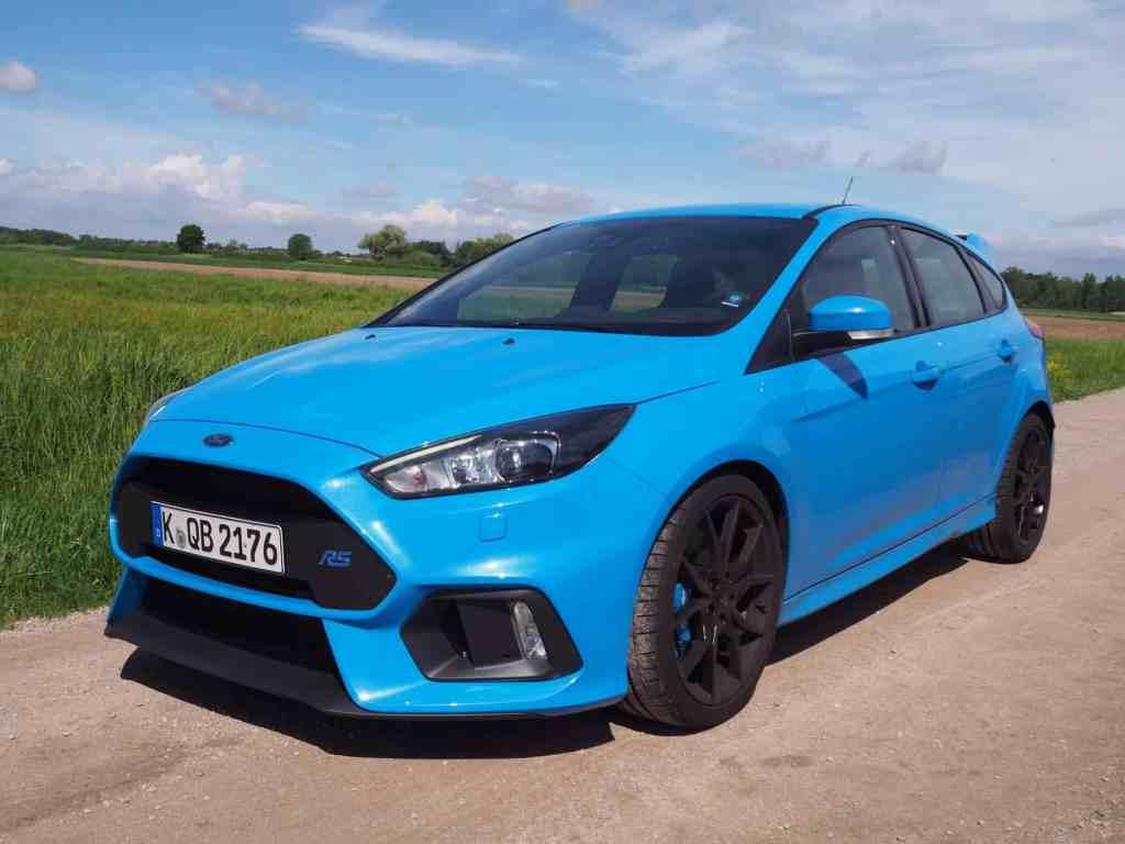 """Ford Focus RS - """"Fährste quer, siehste mehr..."""""""