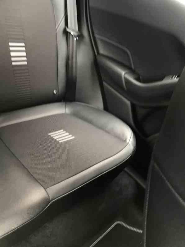 Ford Fiesta Rücksitze