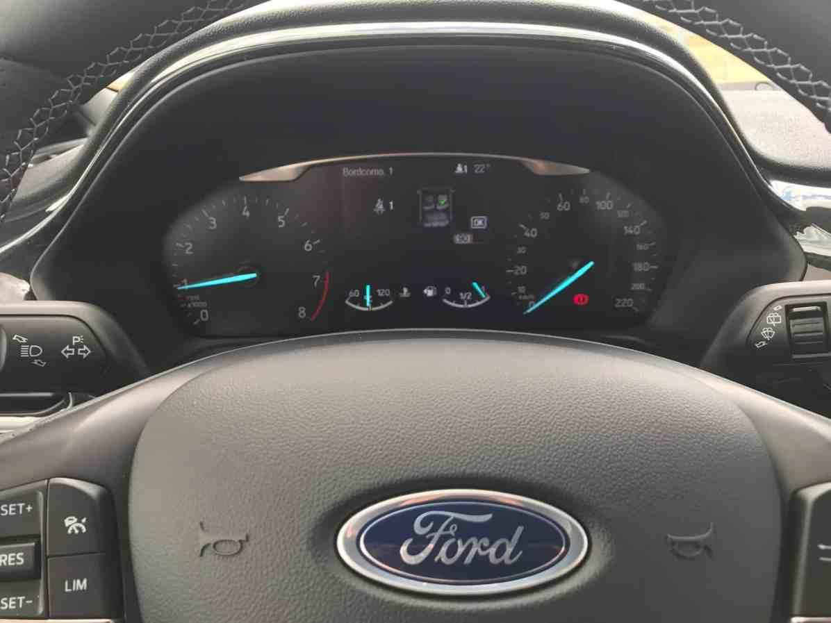 Ford Fiesta Lenkrad