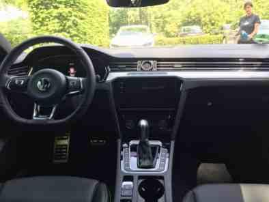 VW Arteon Mittelkonsole